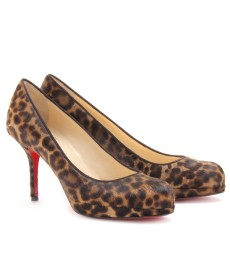 PRORATA 90 PONY LEOPARD PUMPS