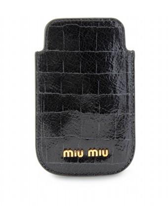 Miu Miu - LEATHER iPHONE CASE - mytheresa.com GmbH