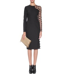 Stella McCartney - LUCIA TULLE SLEEVE DRESS - mytheresa.com GmbH