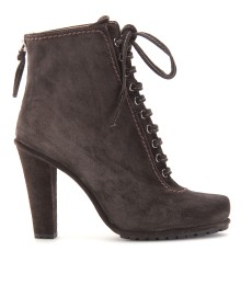 Miu Miu - LACE-UP SUEDE ANKLE BOOTS - mytheresa.com GmbH