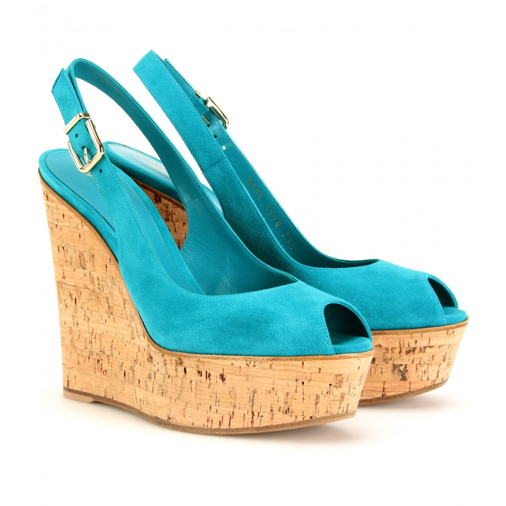 mytheresa.com -  :  slingback wedges wooden wedge designed dress wedges hot sexy shoes