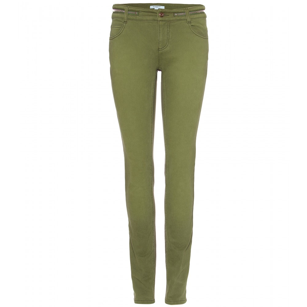 Green Jeans For Women - Xtellar Jeans