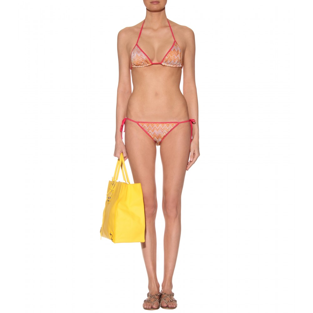 mytheresa.com - Missoni Mare - NEWCASTLE REVERSIBLE STRING BIKINI - Luxury ...