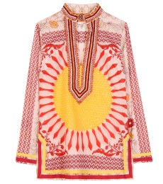 TORY PRINTED COTTON TUNIC