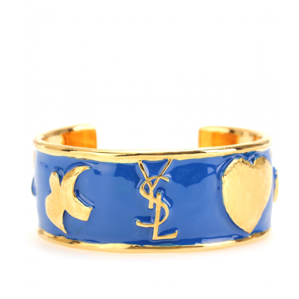 - YCONS ENAMEL CUFF BRACELET - Luxury Fashion for Women / Designer clothing, shoes, bags