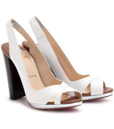 MORPHEA 120 SLINGBACKS AUS LEDER