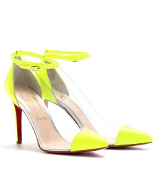 UN BOUT 100 TRANSPARENTE PUMPS