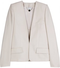 SILK V-NECK BLAZER